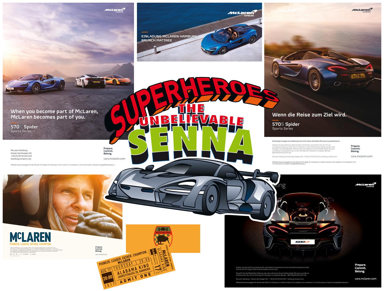 Grafische Konzeption, Event Promotion, McLaren-Hamburg, Jan Solterbeck, Design und Grafik