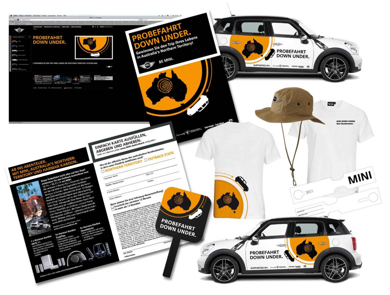 Marken-Promotion, Event-Design, Mini Deutschland, Jan Solterbeck, Design und Grafik
