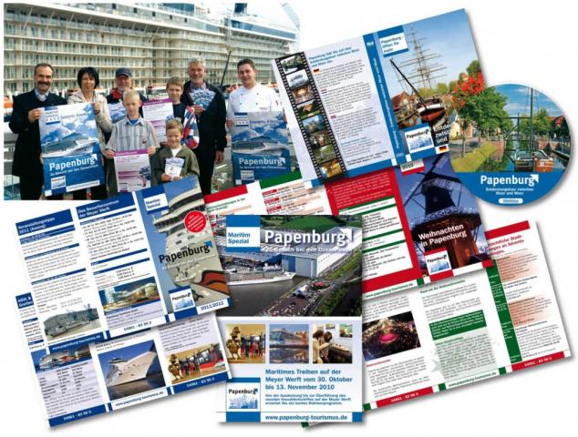 Marken-Kommunikation, Kataloggestaltung, Papenburg Tourismus, Jan Solterbeck, Design und Grafik
